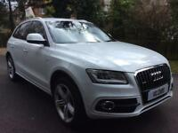 Audi Q5 2.0TDI ( 177ps ) quattro S Line Plus fsh 2012 62 BUY FOR £75 PER WEEK