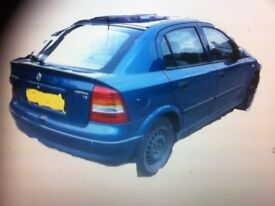 Vauxhall Astra 5 dr( X reg) panels & trim