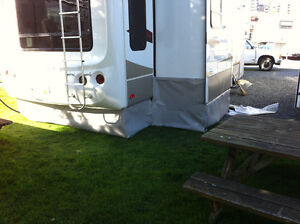 RV Skirts      Custom made for your RV  .....At YOUR location Comox / Courtenay / Cumberland Comox Valley Area image 1