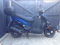 Kymco Agility 125 moped scooter automatic