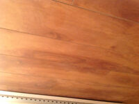 plancher de bois flottant