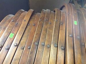 ANTIQUE ROUND TOP WOODEN FOLDING CHAIRS Kitchener / Waterloo Kitchener Area image 7