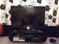 """38"""" LCD Samsung TV with Stand"""