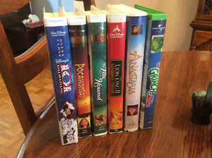 Lot of kids VHS movies