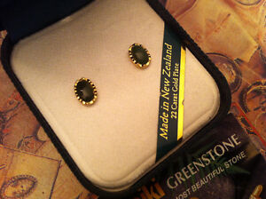 Yellow Gold Plated earrings 22K ,