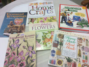 Arts and crafts resource books - various titles