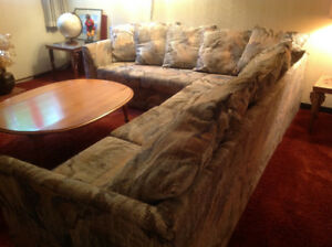 Sectional / sofa bed