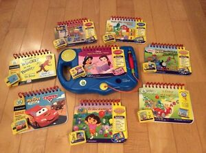 Leap Frog - My First LeapPad Learning System with 8 Cartridges Kitchener / Waterloo Kitchener Area image 1