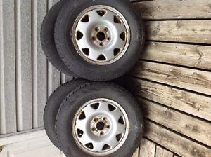 Honda CRV snow tires &trims