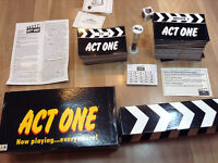 "LIKE NEW ""ACT ONE"" GAME"
