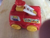 """Toy fire engine 6"""" ideal first one £2"""