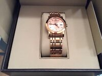BURBERRY Ladies Rose Gold tone Watch