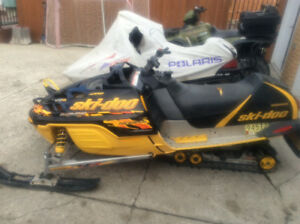 2000 skidoo Mxz 500 parting out