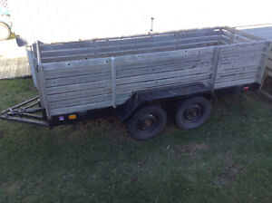 Double Axle Trailer (Tandem) 4 X 12
