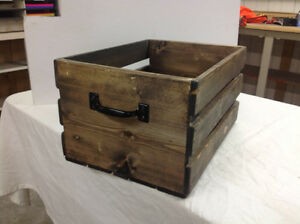 Decorative crates