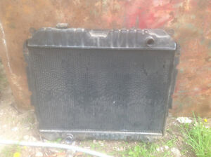1995 truck cab, motor, rad and other parts