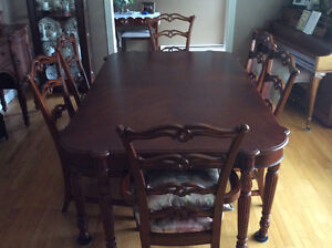Dining Room Set & Buffet - 6 years old