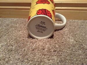 Pair of Bug coffee mugs --Ladybug and Firefly Kitchener / Waterloo Kitchener Area image 2