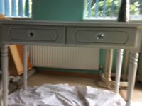 Fusion white dressing table/desk