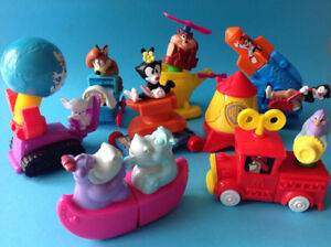 McDonalds & Burger King Happy Meal Sets Toys Jouets