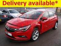 2016 Vauxhall Astra SRi Nav Ecoflex S/S 1.0 DAMAGED REPAIRABLE SALVAGE