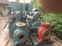 Ford 2723E 6 cylinder Diesel engine Fire Pump