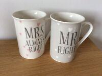 Mr&Mrs mugs
