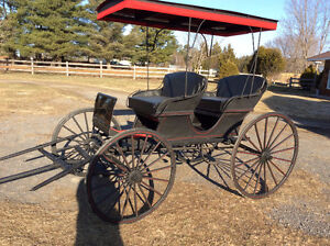 Horse Drawn Surrey Carriage For Sale