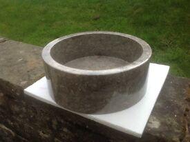 Marble Drum Sink-brand new. Bargain.