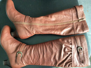 Brand new quality leather boots