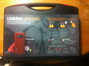 Uniden UPP120RD Portable Power and Roadside Assistance Kit