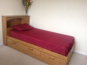 Single beds with mattress for sale