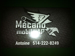 Mécanique Mobile service pose de pneu a domicile, vente pneu