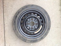 "14"" - 4 Bolt EMERGENCY Spare Tire T115/70D14"