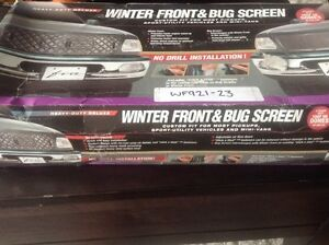 Winter front and bug screen