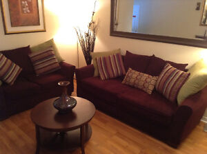 Leon's Sofa  and Loveseat