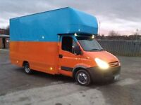 2009 iveco daily 3.0 hpi 6 speed lwb Luton box van 1 owner choice of 3