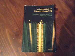 AN INTRODUCTION TO QUANTUM COMPUTING - KAYE, LAFLAMME, MOSCA