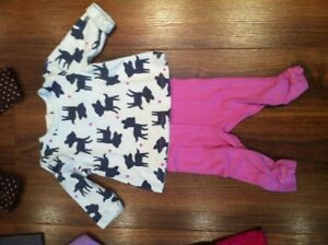 Lot of Baby Girl Clothes, size 3-6 months, 8 pieces
