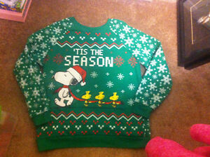 Women's Snoopy Holiday Sweater