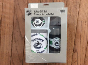 Baby Gift Set Vancouver Canucks