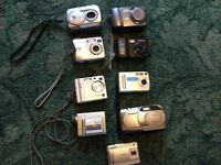 Job lot of cameras untested spares or repair