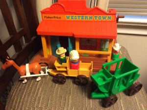 Fisher Price Little People Western Town