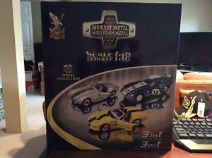 BUBBA - ROAD Signature 3in1 1:18 Shelby Cobra Diecast Set