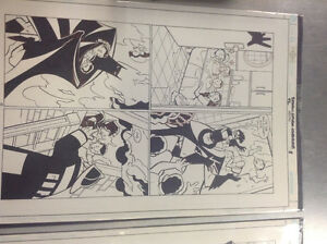 Original comic book art Cambridge Kitchener Area image 4
