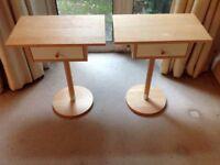Bed side cabinets x 2 - Ikea Ranvik model
