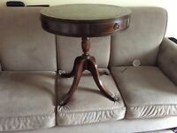 Vintage Solid wood round table
