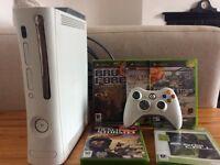 Xbox 360 bundle with games, control etc