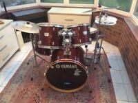 Yamaha YD series drum kit + extras