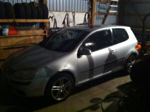 Parting out - 2007 VW Golf 2.5L gas - standard